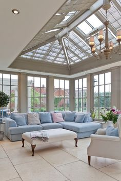 A living room conservatory classic style conservatory by vale garden houses classic wood wood effect Conservatory Interiors, Conservatory Decor, Kitchen Orangery, Design Living Room, Living Rooms, Rustic Home Design, French Home Decor, Home Decor Accessories, Cheap Home Decor