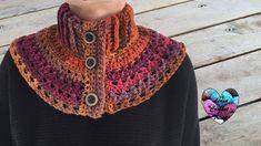 Chauffe épaules femme crochet facile / Neckwarmer collar crochet (englis...