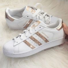 66 Best Ideas For Basket Femme Mode Adidas Adidas Shoes Women, Sneakers Adidas, Adidas Outfit, Adidas Shoes Gold, Grey Sneakers, Bling Shoes, Gold Shoes, Prom Shoes, Sparkle Shoes