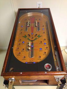 Antique Pinball - 1934 Bally Signal
