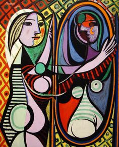 Girl-Before-A-Mirror-By-Pablo-Picasso.jpg (860×1066)