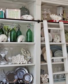 The Paris Market & Brocante: Decorating Ideas for Seashells and lacy Sea Fans