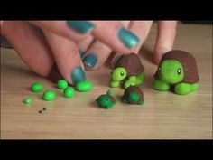 DIY: Polymer Clay Turtle -- so easy, even little kids can make them!