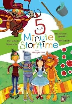 #reading #storytime in 5 minutes !   Five Minute Story Time (Chicken Little, Jack & t... by Flowerpot Press http://amzn.to/1GToLAj