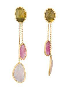 Marco Bicego Sapphire Drop Earrings
