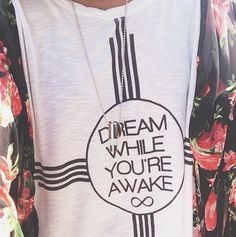 Dream While You're Awake Tee