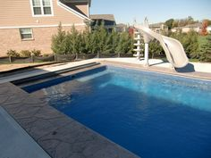Pools Decks And Cabanas Outdoor Landscape Ideas Pinterest Swimming Pools