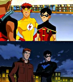 Wally and Dick. Such a great bromance.
