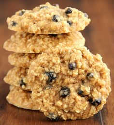 Blueberry Oatmeal Cookies - Healthy Food Recipes