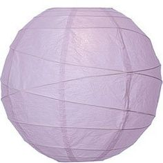 Lavender Purple 10 Inch Premium Round Paper Lantern by Luna Bazaar. $3.95. This small purple paper lantern is made with the finest quality rice paper and bamboo freestyle ribbing. As with all our premium paper lanterns, they can be used with most ceiling fixtures and with most light cords for hanging lanterns. They can also be used with our LED battery lights as convenient, cord-free lighting and decoration for parties, weddings, patios, gardens, and outdoor celebrations...