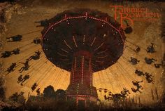 Flying Swings - an original carnival piece by Tammie Bowden Photography. It really captures the creepy carnival effect!