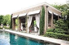 Sweet pool and cabana!