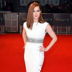 2015 BAFTA Film Awards: Red Carpet Arrivals Amy Adams