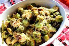 Varza de Bruxelles la cuptor Sprouts, Food And Drink, Vegetarian, Vegetables, Brussels, Fine Dining, Salads, Vegetable Recipes, Veggies