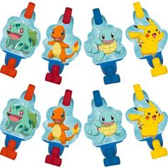 Little Live Pets Cutie Pups Playcase Series 1 Pokemon Party Supplies, Pokemon Party Decorations, Kids Party Supplies, Pokemon Themed Party, Pokemon Birthday, Pokemon Balloons, 6th Birthday Parties, Fourth Birthday, Halloween Party Decor