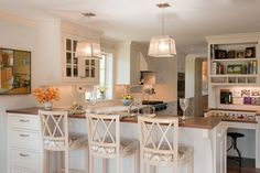 Kitchen - contemporary - kitchen - boston - Su Casa Designs  (like the drawers, using all the space)