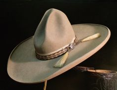 05088020633 Highly collectible antique Stetson with period horse hair band. W. Manns  photo Cowboy Hat