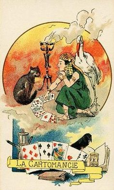 Vintage Gypsy, Vintage Art, Gypsy Fortune Teller, Parlor Games, Dancing Day, Childhood Games, Gypsy Women, Queen Of Spades, Fortune Telling