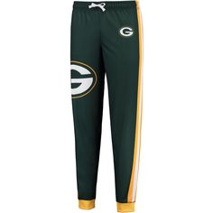 Klew Green Bay Packers Women's Green Jogger Pants