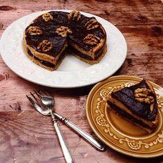 Én kicsi paleo konyhám: Villámgyors diós csokitorta Atkins, French Toast, Breakfast, Food, Morning Coffee, Meals, Yemek, Eten