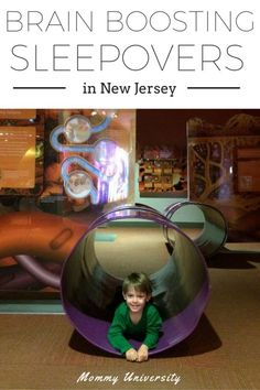 Brain Boosting Sleepovers in NJ! If you are looking for learning and fun then sleepovers all around NJ (NY/Philly) offers children the opportunity for learning through play.  Compiled by Mommy University at www.MommyUniversityNJ.com