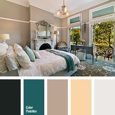gray-brown palettes with color ideas for decoration your house, wedding, hair or even nails.