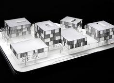 Schwäbisch Media / Wiel Arets Architects Maqueta, architectural model