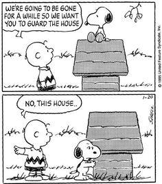 wholels:  -Staremo via per un po',  così vorremmo sorvegliassi la casa…   -No, QUESTA casa…