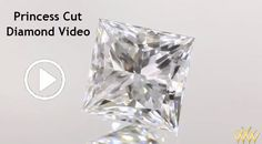 Princess Cut Diamond Video - Square to slightly rectangular in shape, the princess cut features four pointed corners and a brilliant style facet arrangement that if properly crafted can deliver light performance similar to the round brilliant. Princess Cut Diamonds, Diamond Are A Girls Best Friend, Diamond Shapes, Sparkle, Videos, Style, Swag, Outfits