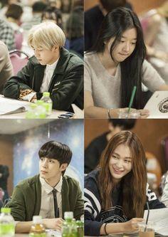 Moorim School: Shin Hyun Joon, Lee Hyun Woo, Seo Ye Ji, VIXX's Hongbin, Jung Yoo Jin, Sam Okyere, Kan Mi Yeon. #kdrama