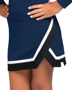 Wow a stadium full of frenzied fans with the eye-catching Arena Uniform Skirt. Get the unbeatable Arena look for your next sideline season. Cheerleading Uniforms, Sports Uniforms, Cheerleader Skirt, Knife Pleated Skirt, Team Wear, Cheer Skirts, Gym Shorts Womens, Style Inspiration, Casual