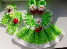 vestido bebe croche 14