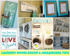 I like:  sorting baskets; ironing board holder; lost change jar.