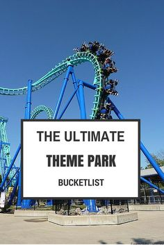 Check out this list of worlds best theme parks & create your ultimate theme park Bucketlist. Have we missed one? Let us know.