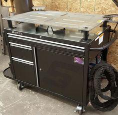 Custom snap-on welding cart/table