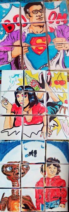 Cubes formant une image #1