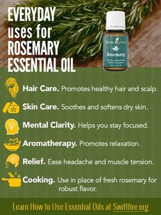 Young Living Essential Oils: Rosemary:   #EssentialOils  #RosemaryOil Pinned for you by https://organicaromas.com/