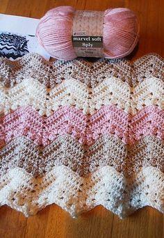 6-Day Kid Blanket - Free pattern! #freepattern #crochet