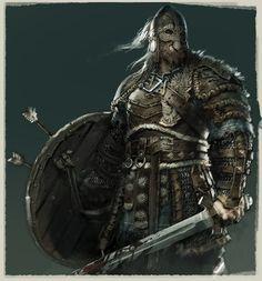 ArtStation - For Honor Viking design, Remko Troost