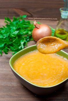 Crema de Verduras de Temporada, para combatir esos días fríos de #invierno #cremasysopas