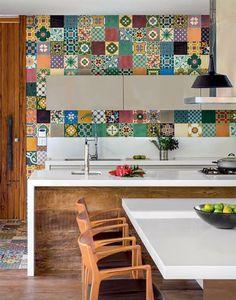 80 Favorite Colorful Kitchen Decor Ideas And Remodel for Summer Project 64 – Home Design Decor, Home Kitchens, Kitchen Remodel, Kitchen Design, Kitchen Decor, Colorful Kitchen Decor, Kitchen Colors, Kitchen Interior, Home Decor