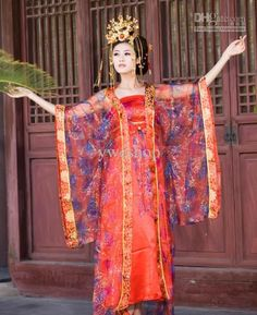 Wholesale Luxury Dress - Buy Charming China Traditional China Clothing The Costume Tang Concubines Tanggong Luxury Dress, $56.55 | DHgate