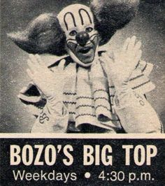 Bozo the Clown is a clown character whose broad popularity peaked in the United States in the 1960s as a result of widespread franchising in early television. Originally created by Alan W. Livingston and portrayed by Pinto Colvig for a children's storytelling record album and illustrative read-along book set, the character became very popular during the 1940s and was a mascot for record company Capitol Records.