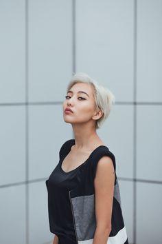 Astonishing 1000 Ideas About Asian Short Hair On Pinterest Brown Eyes Short Hairstyles Gunalazisus