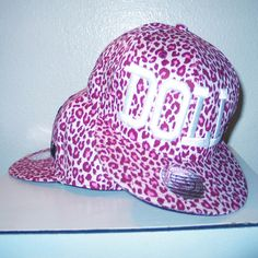 Designer Clothes, Shoes & Bags for Women Nikki Lipstick, Pink Leopard, Snapback, Baseball Hats, Barbie, Embroidery, Dolls, Shoe Bag, Design