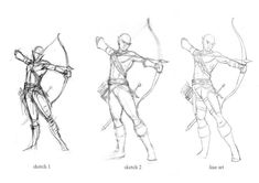 archery poses - Google Search