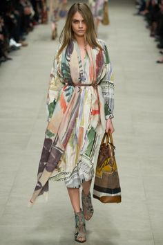 Burberry Prorsum Fall 2014 RTW - Runway Photos - Fashion Week - Runway, Fashion Shows and Collections - Vogue Moda Fashion, Runway Fashion, High Fashion, Fashion Show, Womens Fashion, Fashion Trends, Uk Fashion, Burberry Prorsum, Street Style