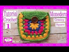 "Monedero Vintage a Crochet ""Maricita"" (1) por Maricita Colours Tutorial Gratis - YouTube"