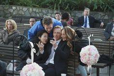 Greys Anatomy bts Callie and Arizona's Wedding
