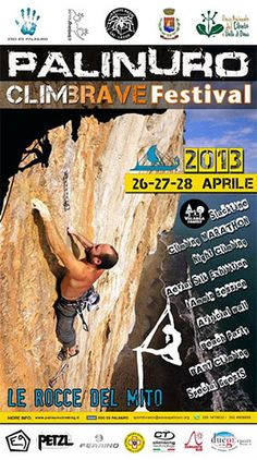 Palinuro ClimBrave Festival - http://www.portarosa.it/palinuro-climbrave-festival.html #cilento #eventicilento